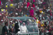 Pope holds mass in crime-ridden Mexican...