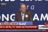Pres. Bush: Strongest person isn't loudest...
