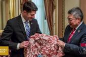 Why won't Paul Ryan wear his Aloha shirt?