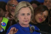Clinton's lead shrinks with Super Tuesday...