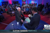 Sanders explains his stance on privacy