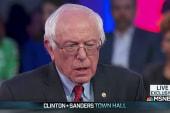 Sanders on jobs for veterans