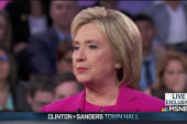 Clinton: I am the best person to be president