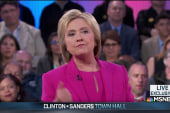 Clinton proud of union support