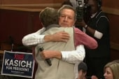 The significance of the Kasich hug