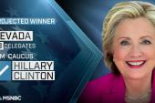 Hillary Clinton projected Nevada winner