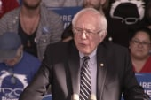 Sanders discusses loss, campaign momentum