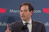 Rubio: GOP race a three-way contest
