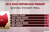 Trump leads rival Kasich in his home state