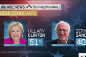Clinton maintains double digit national lead