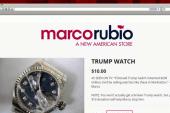Rubio now 'selling' broken Trump watch
