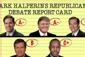 Halperin scores the debate: Rubio gets A-