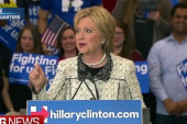 Clinton: Tomorrow this campaign goes national