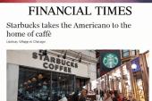 Starbucks going where it's never gone before