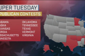 Trump heads to Super Tuesday with big...