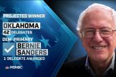 Sanders, Cruz projected winners in OK