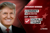 Trump apparent winner in VT: NBC News