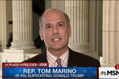 Rep. Marino sides with Trump's Muslim ban
