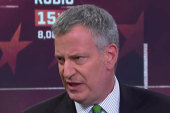 De Blasio: Trump doesn't reflect NYC values