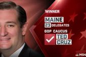Ted Cruz named winner of Maine
