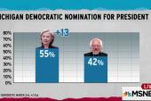Democrats battle for Michigan's delegates