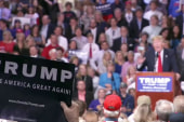 Trump: Those aren't Nazi salutes at my...