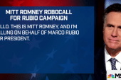 Romney records robocall for Rubio campaign