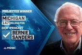 NBC News: Sanders wins MI Dem. primary