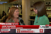 Jane Sanders looks ahead to coming contests