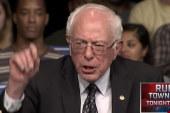 Sanders Scores Upset In Michigan