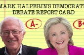 Halperin scores Tuesday's Dem Debate