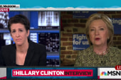Clinton talks tough on trade