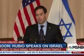 Rubio: I side with Israel
