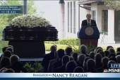 Tom Brokaw speaks at Nancy Reagan's funeral
