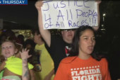 Fast food workers protest minimum wage