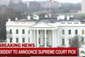 White House to announce Supreme Court pick