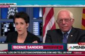 Bernie Sanders touts strength on trade