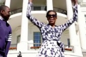 FLOTUS campaigns for girls' education...