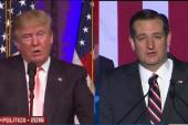 Establishment support for Cruz growing