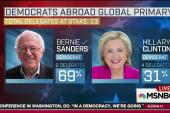 Sanders wins 'Democrats abroad' primary