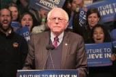 Sanders touts poll numbers against GOP