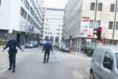 Mass transit shuts down in Brussels
