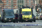 Woman describes Brussels attack from hotel