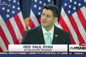 Spkr. of the House Paul Ryan: 'I was wrong'