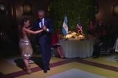 Obama dances the tango in Argentina