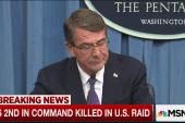 ISIS 2nd in command killed in U.S. raid