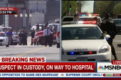 Capitol Hill Shooting suspect in custody