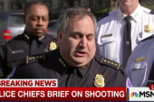 Capitol police respond to US Capitol shooting