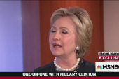 Clinton on Trump: 'Outrageous and dangerous'