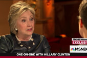 Clinton confident, taking nothing for granted